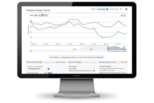 finding opportunities through energy management dashboard